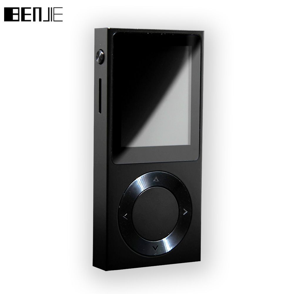 BENJIE-T6 HiFi MP3 Music Player 1.8 TFT Screen Full Zinc Alloy Lossless HiFi MP3 Music Player Support DSD /Bluetooth/ AUX