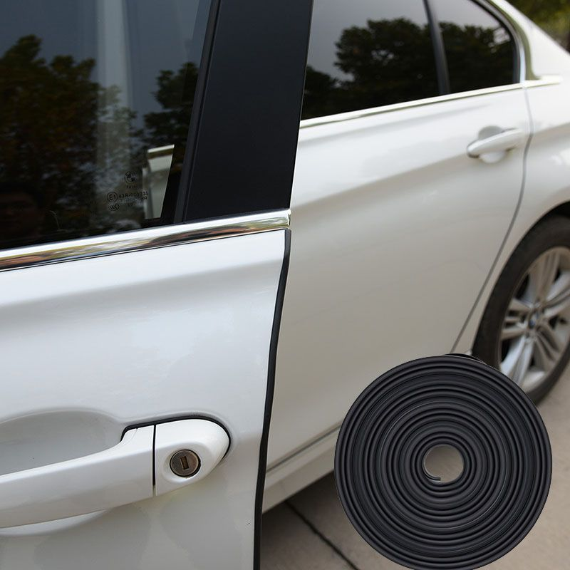8 м U Тип 3 м клей резиновый уплотнитель Универсальный Автомобильный Дверные рамы уплотнитель печать автомобильной звукоизоляция автомобил...