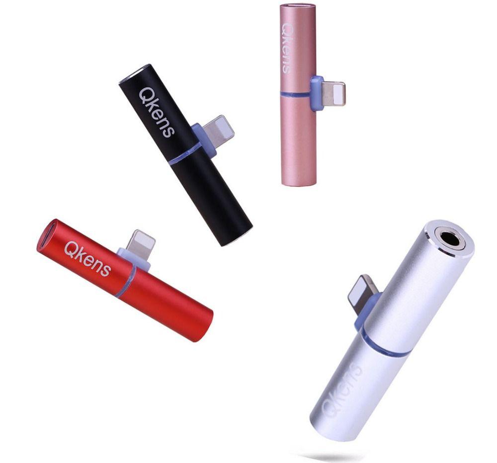IOS10.3 iOS 11 Audio Adaptateur Splitter pour 3.5mm Écouteurs Casque Chargeur Convertisseur de charge Pour iPhone 7 7 Plus 8 8 PLUS X 5 6