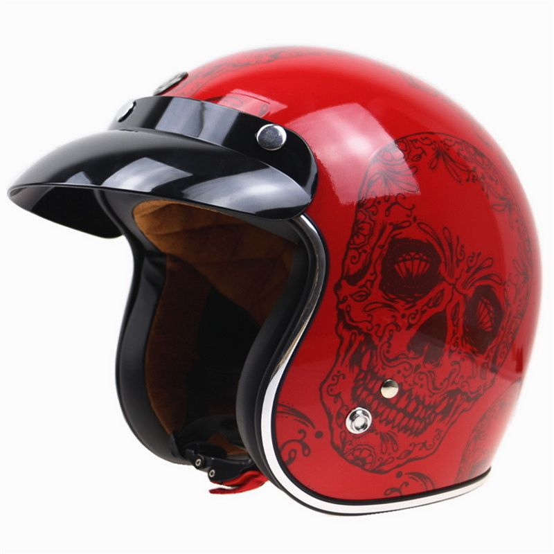 TORC T50 vintage open face brand casque motocross helmet casco capacetes motocycle helmet DOT certification