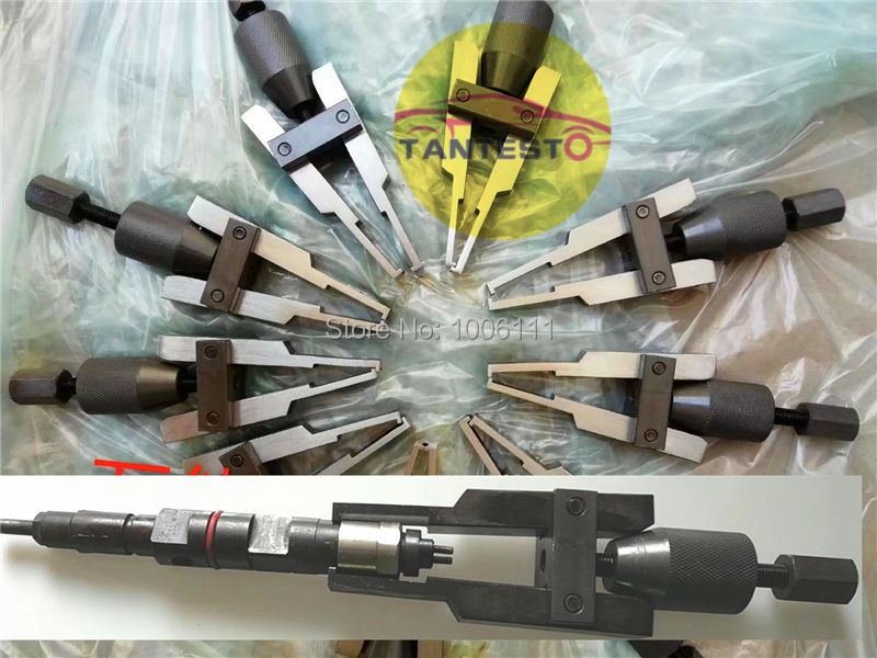 diesel fuel common rail injector dismounting puller tool for all brands injectors without slider hammer
