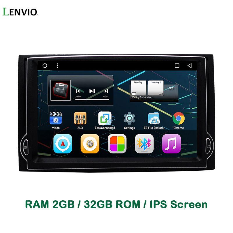 Lenvio IPS RAM 2GB+32GB Quad Core Android 6.0 CAR DVD GPS Navigation Player For Hyundai H1 2007 2008 2009 2010 2011 2012 Radio