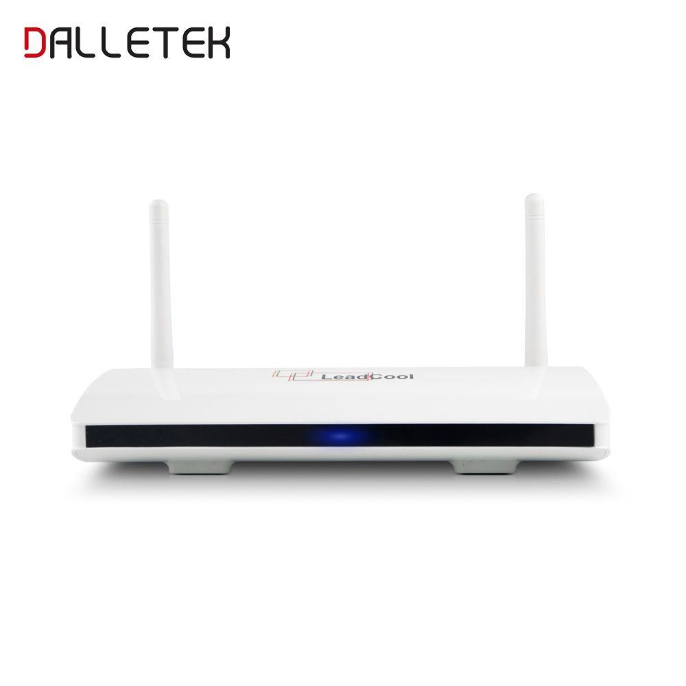 Dalletektv Leadcool Smart TV Box Android 6.0 SUBTV Europe Arabic French TV Box 1GB 8GB RK3229 TV Receiver Set Top Box