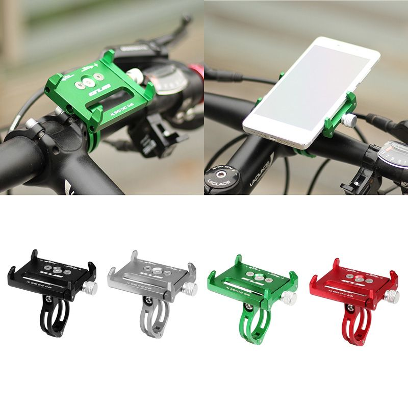 Metal Bike Bicycle Holder Motorcycle Handle Phone Mount Bracket Stand For iPhone Samsung LG Cellphone Mobile Phone GPS 'xian