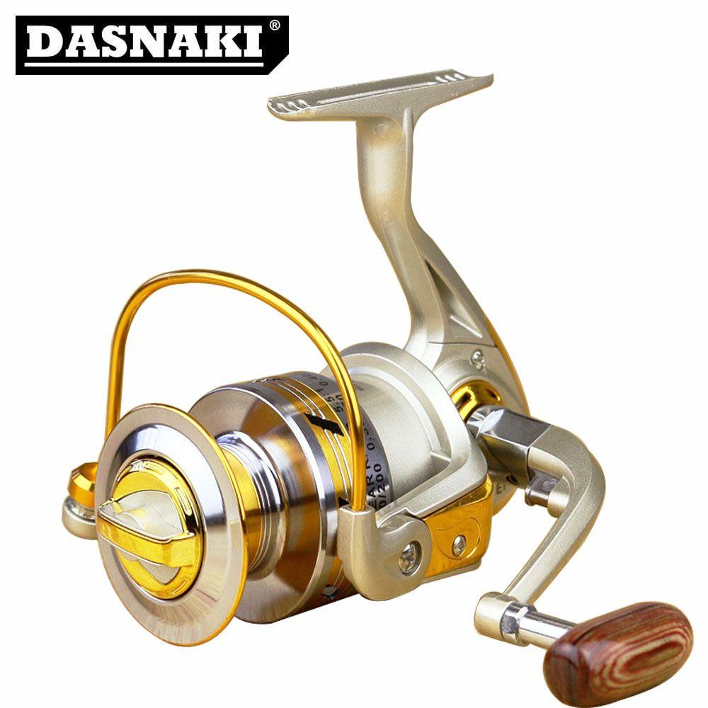 Moulinet d'eau douce Anti-corrosion moulinet de pêche EF1000-7000 10BB 5.5: 1 bobine de pêche en métal