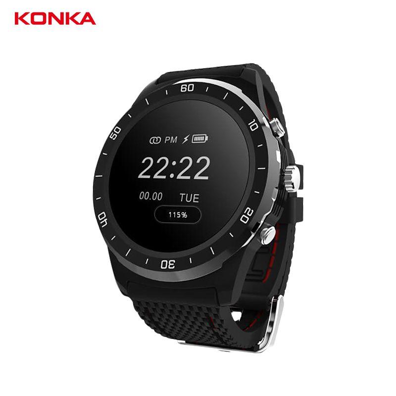 KONKA 0.96'' OLED smart wristband Heart rate/blood Oxygen pedometer watch fitness tracker smart <font><b>Bracelet</b></font> sport activity band