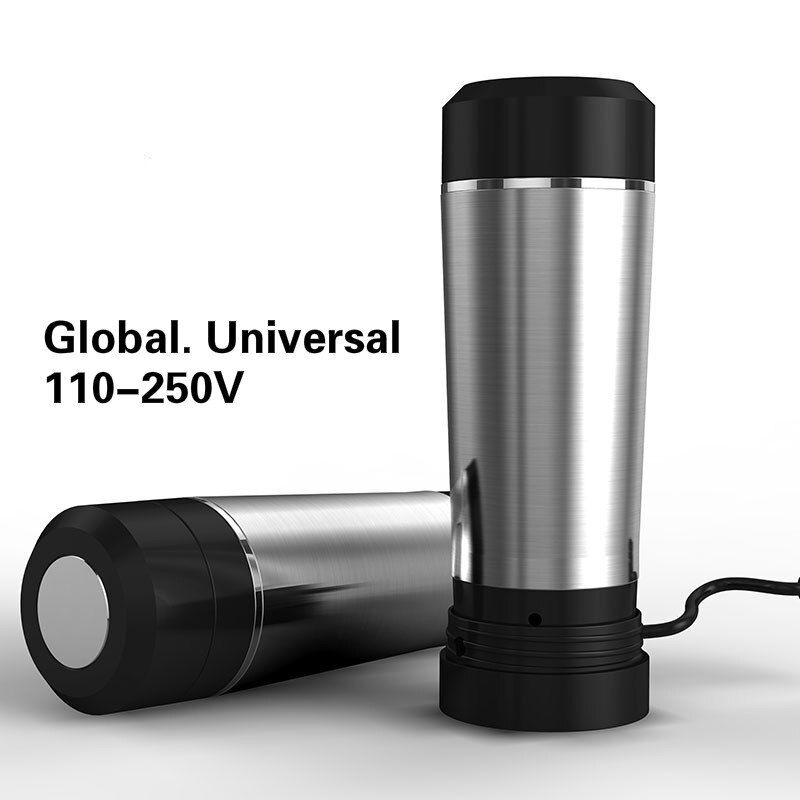 Electric kettle Travel electric abroad general portable mini insulation heating cup 304 stainless steel Safety Auto-Off Function