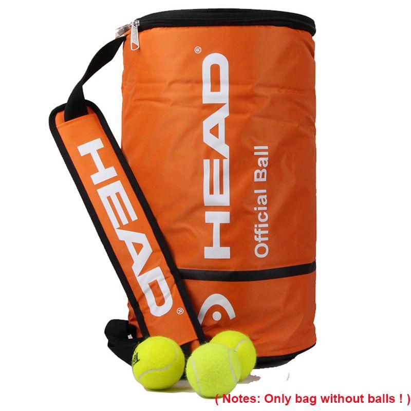 Head Offical Tenis Ball Bag Single Shoulder Large Capacity Bolsa For 100pcs Ball Tennis Racket Sports Outdoor Training Accessory