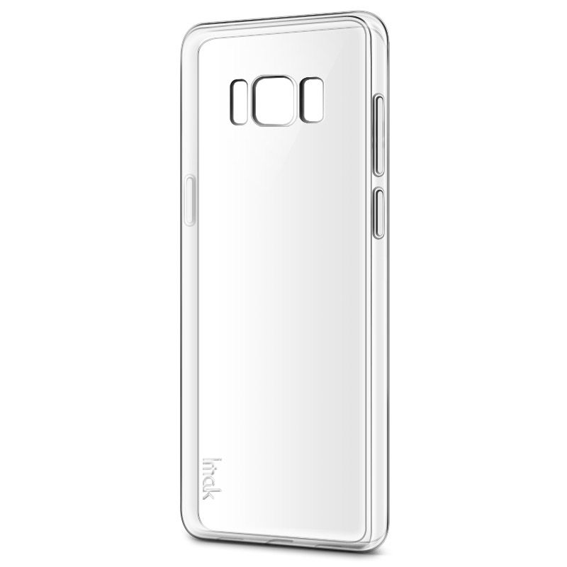 IMAK Stealth Clear TPU Case + Screen Protector Film for  Samsung Galaxy S8