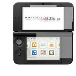New Arrival Top Selling Clear Top + Bottom Screen Protectors LCD Screen Film For Nintendo For 3DS XL LL