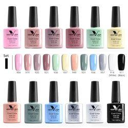 Newest enamel nail gel polish Venalisa 60 color nail art DIY manicure uv led gel polish gel nail lacquer varnish nail polish gel