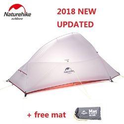 Naturehike 2018 Awan Up 2 Diperbarui Versi Baru Luar 2 Orang Ultralight Berkemah Tenda Berdiri Bebas