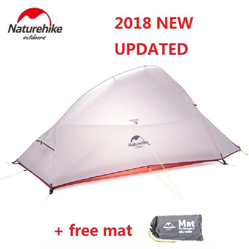 Naturehike 2018 Neue Wolke Bis 2 Aktualisiert Version Outdoor 2 Person Ultralight Camping Zelt Freistehende