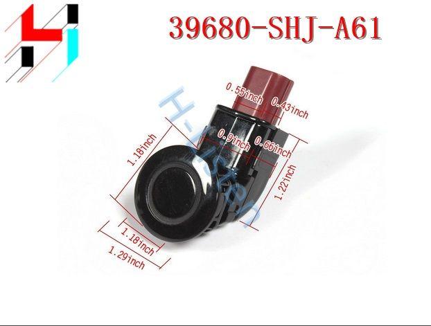 (10 pièces) nouveaux capteurs de stationnement de secours PDC noir 39680SHJA61 39680-SHJ-A61 adaptés pour Honda Odyssey 2005-2009 CRV 2004-2010 2011-2013