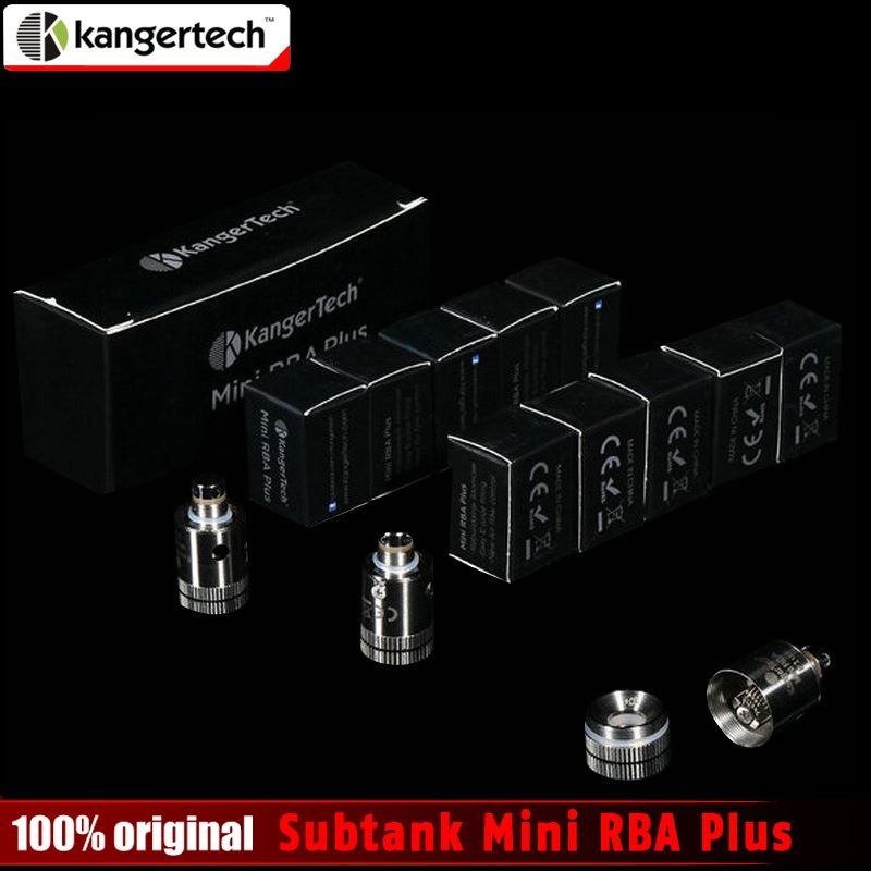 100% Original kangertech Subtank Mini RBA Plus Coil Kanger Mini RBA Deck for Subtank Mini Subtank Plus Atomizer