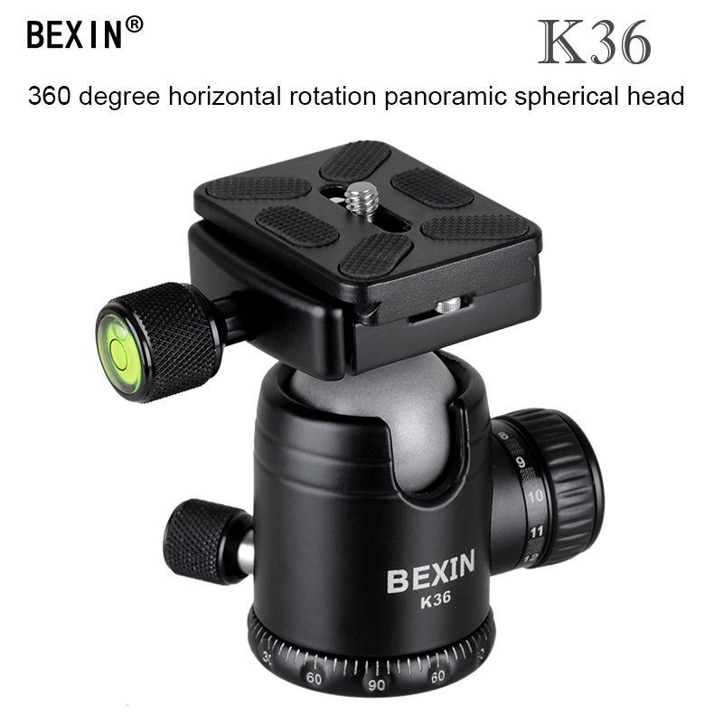 BEXIN accessoires pour appareil photo professionnel 360 degrés Rotation panoramique dslr appareil photo trépied monopode support à rotule