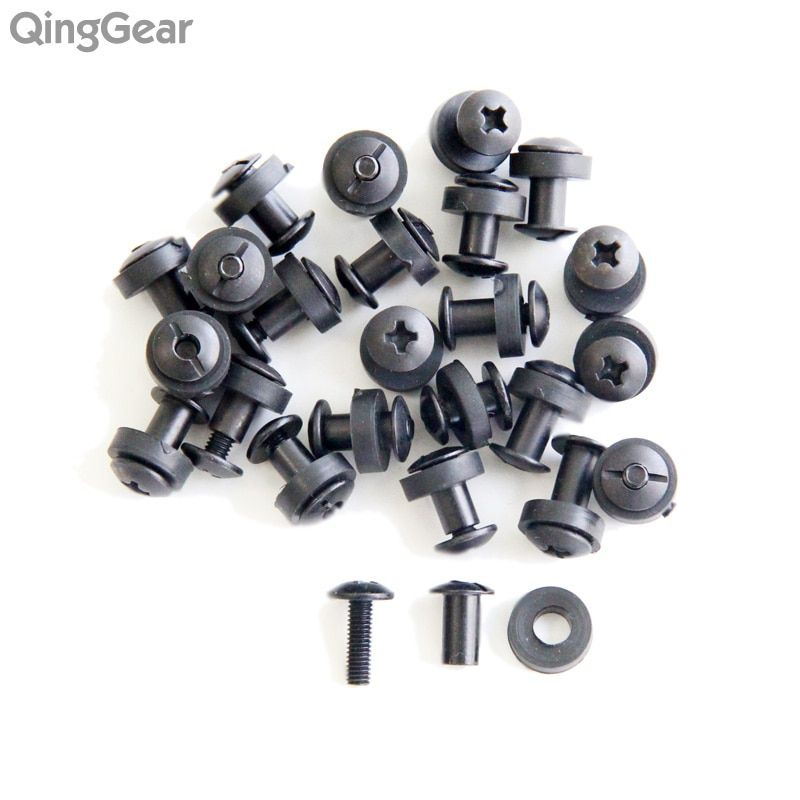24pcs Tek lok screw set Chicago Screw comes with washer for DIY Kydex Sheath Hand Tool Parts free shipping