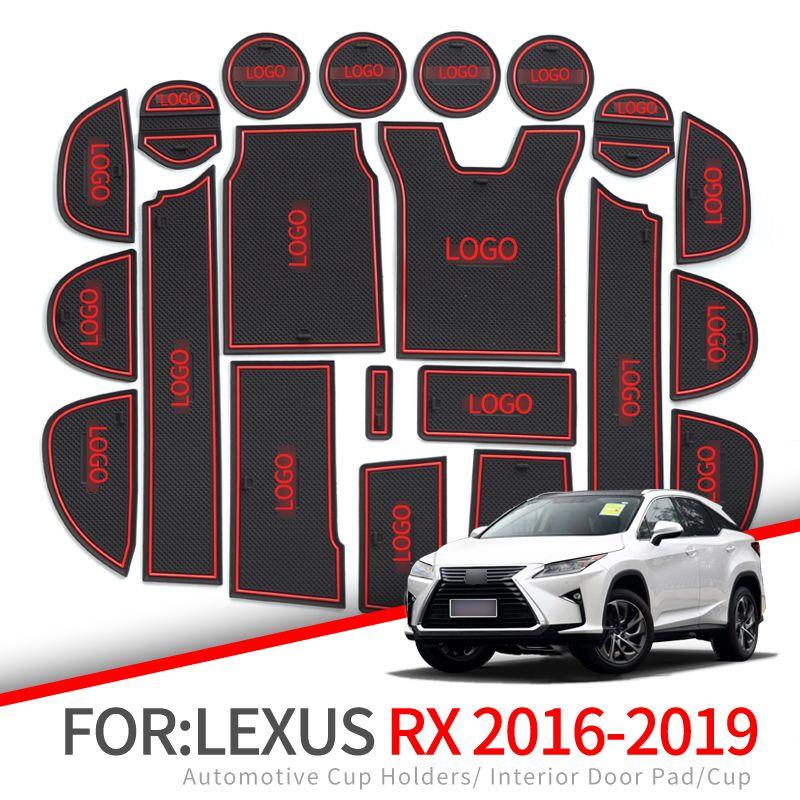 ZUNDUO Anti-Slip Tor Slot Matte Für Lexus RX 300 200t 450h RX200t RX300 RX450h 2016 2017 2018 2019 zubehör Nicht-slip matten