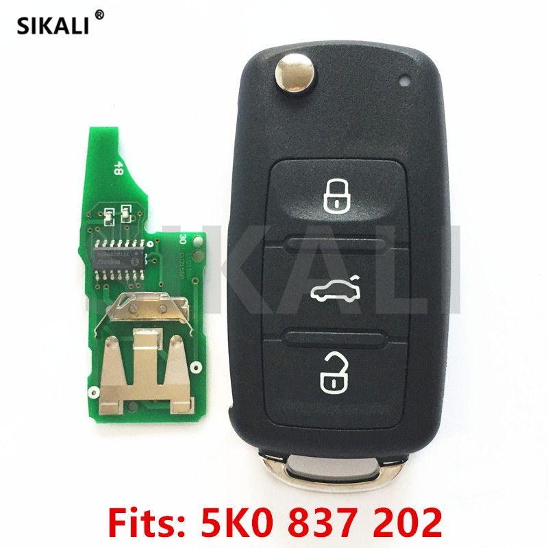 Автомобиль дистанционного ключа для 5k0837202/5fa010180-00 для Beetle/Caddy/EOS/Гольф/Jetta/Мужские поло/ scirocco/Tiguan/Touran/для VW/Volkswagen