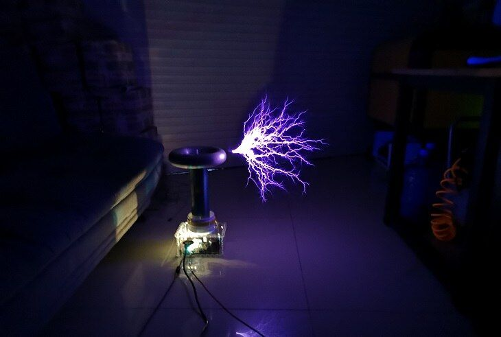 Integrated DRSSTC Drive Board Transistor Double Resonance Music Tesla Coil Artificial Lightning