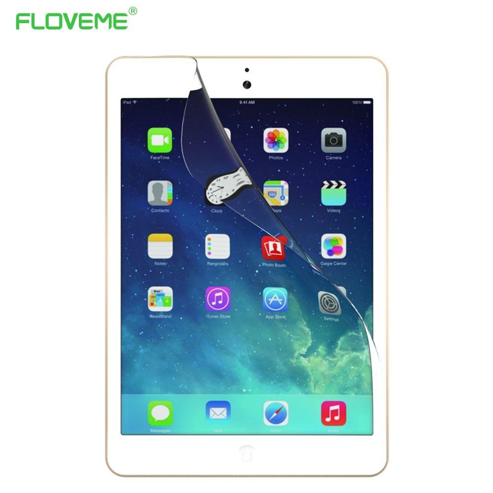 FLOVEME 2 teile/los Für Apple iPad Air 2 iPad 6 Displayschutzfolie klar Soft Front Display Schutzfolie Touch Film Für iPad Air 2