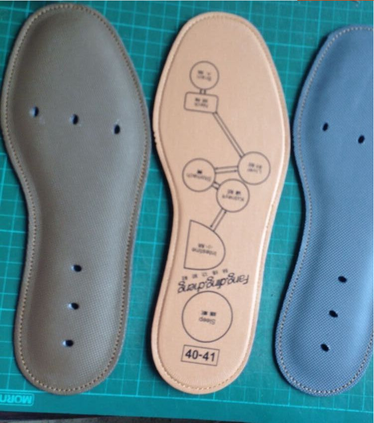 KDQM shipping new Custom-sized insole for free cutting. men women knead Breathable insole 6Pcs/Lot