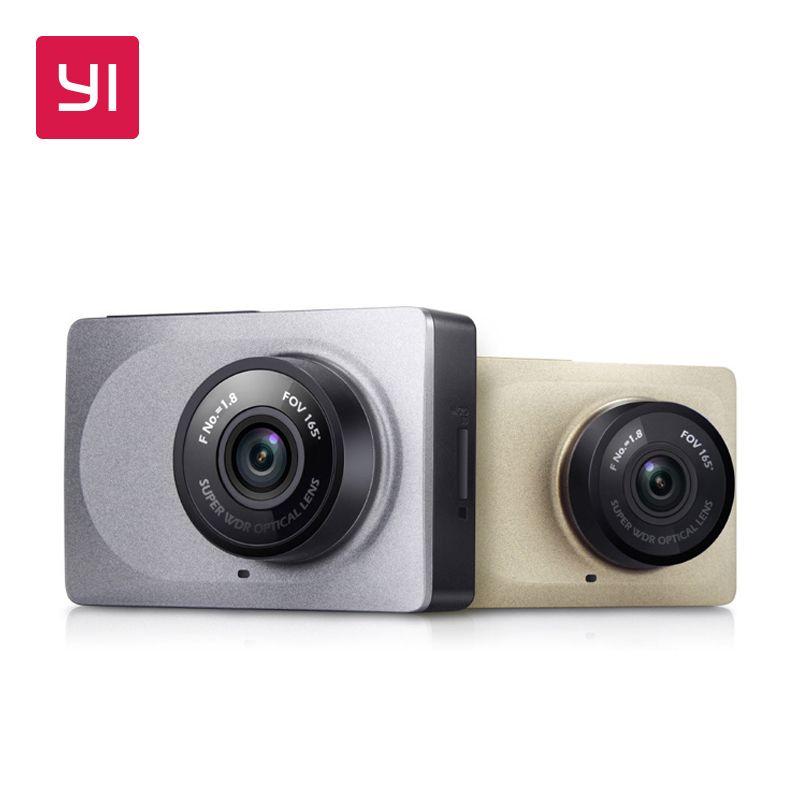 YI Dash caméra 2.7 écran Full HD 1080P 60fps 165 degrés grand Angle voiture DVR Dash Cam avec g-sensor Vision nocturne internationale