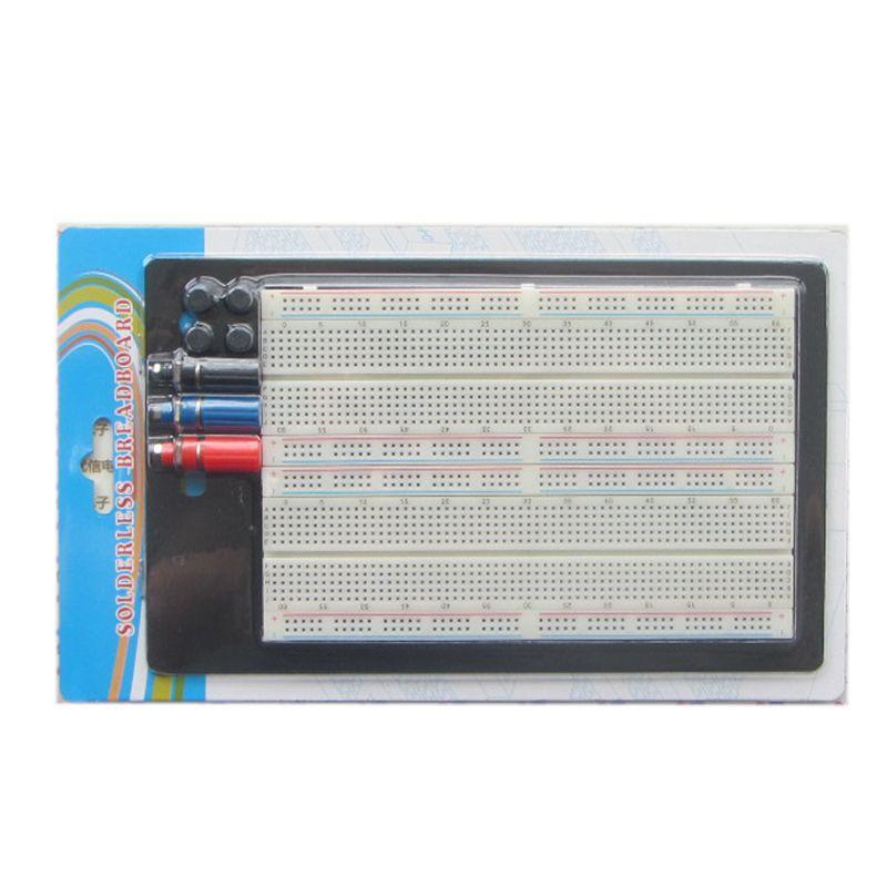 Essais sans Soudure Protoboard 4 Circuit Test Bus Tie point 1660 ZY-204 Essais Sans Soudure Protoboard # nbp013