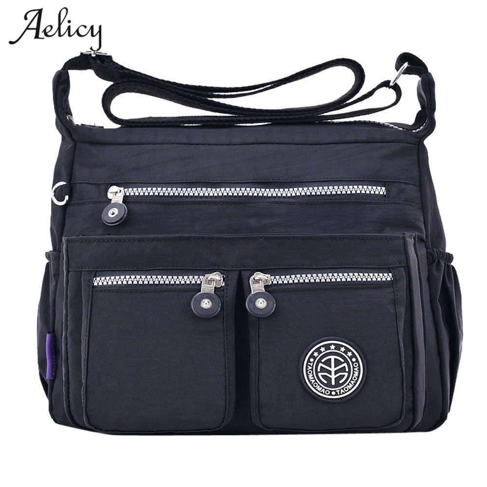 Nouveaux sacs de Messenger pour femmes aelglacial pour femmes sac à main en Nylon imperméable sac à main femme sac à bandoulière dames sac à bandoulière bolsa