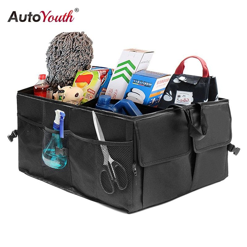 Car Trunk Organizer Eco-Friendly Super Strong & Durable Collapsible Cargo Storage Box For Auto Trucks SUV Trunk Box / Box