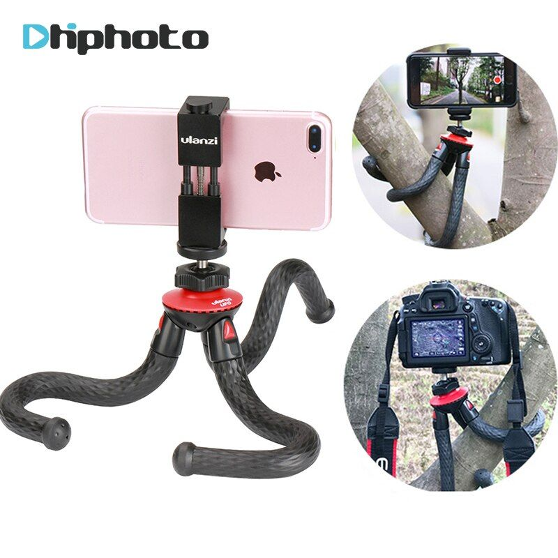 Ulanzi UFO Flexible Octopus Camera Tripod with Ballhead Bundle,Phone Video Gear mini tripod for Phone X Gopro 4 5 6 Samsung