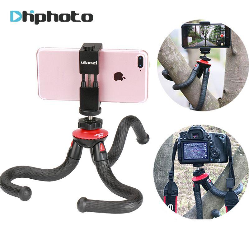 Ulanzi UFO Flexible Octopus Camera Tripod with Ballhead Bundle,Phone Video Gear mini tripod for Phone X Gopro 4 5 6 Samsung