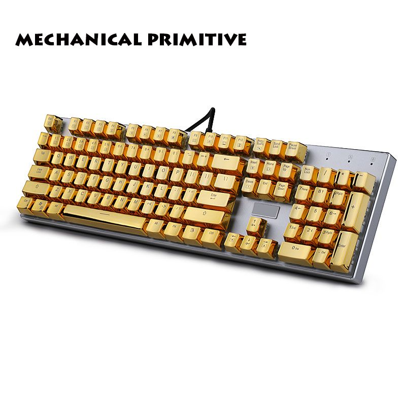 104 Keycaps PBT OEM hautement personnalisé Translucidus métal mécanique clavier Keycaps
