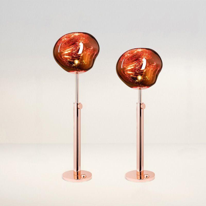 Nordic Stehend Lampen Lava Loft Glas LED Boden Lichter Schlafzimmer Wohnzimmer Hotel Stehenden Leuchten Dekoration