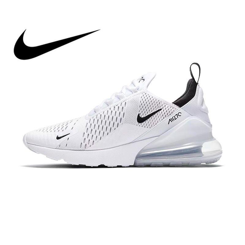 Genuine Nike Air Max 270 Men's Running Shoes Sneakers Outdoor Sport Lace-up Jogging Walking Designer Athletic Original 2019 New