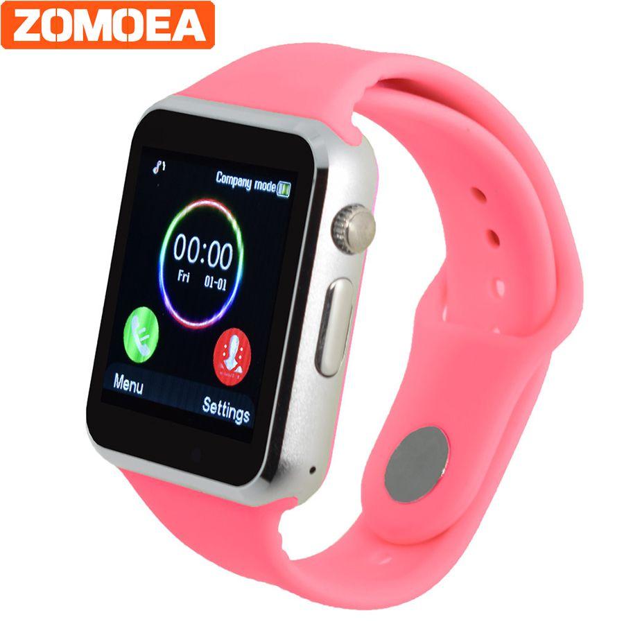 Мужские и женские Smart Watch для Android Bluetooth Спорт Шагомер Поддержка WhatsApp Twitter умных часов для Samsung Камера gt08 dz09