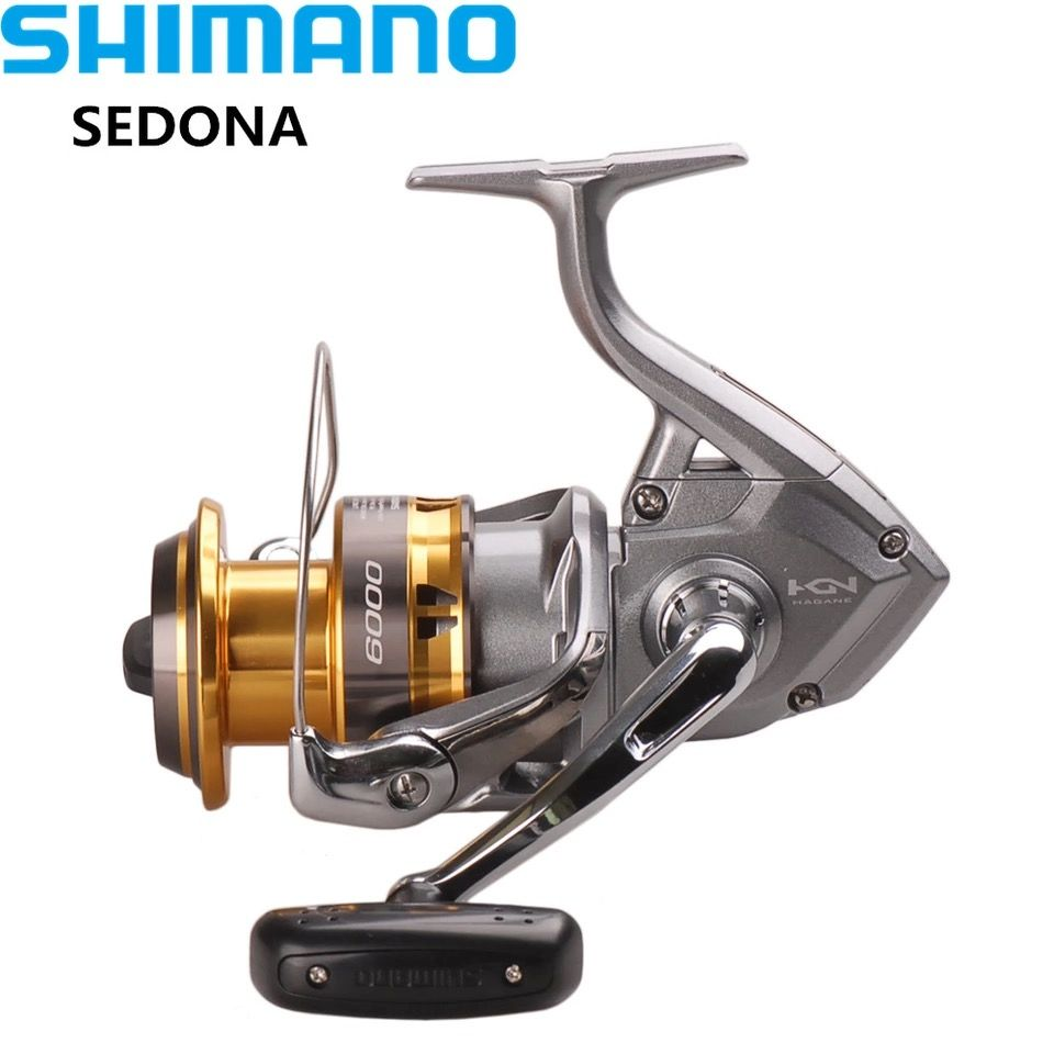 100% SHIMANO SEDONA6000/8000 Spinning Fishing Reel 3+1BB Hagane Gear Saltwater Carretes Pesca Reel Carretilha Moulinet Peche
