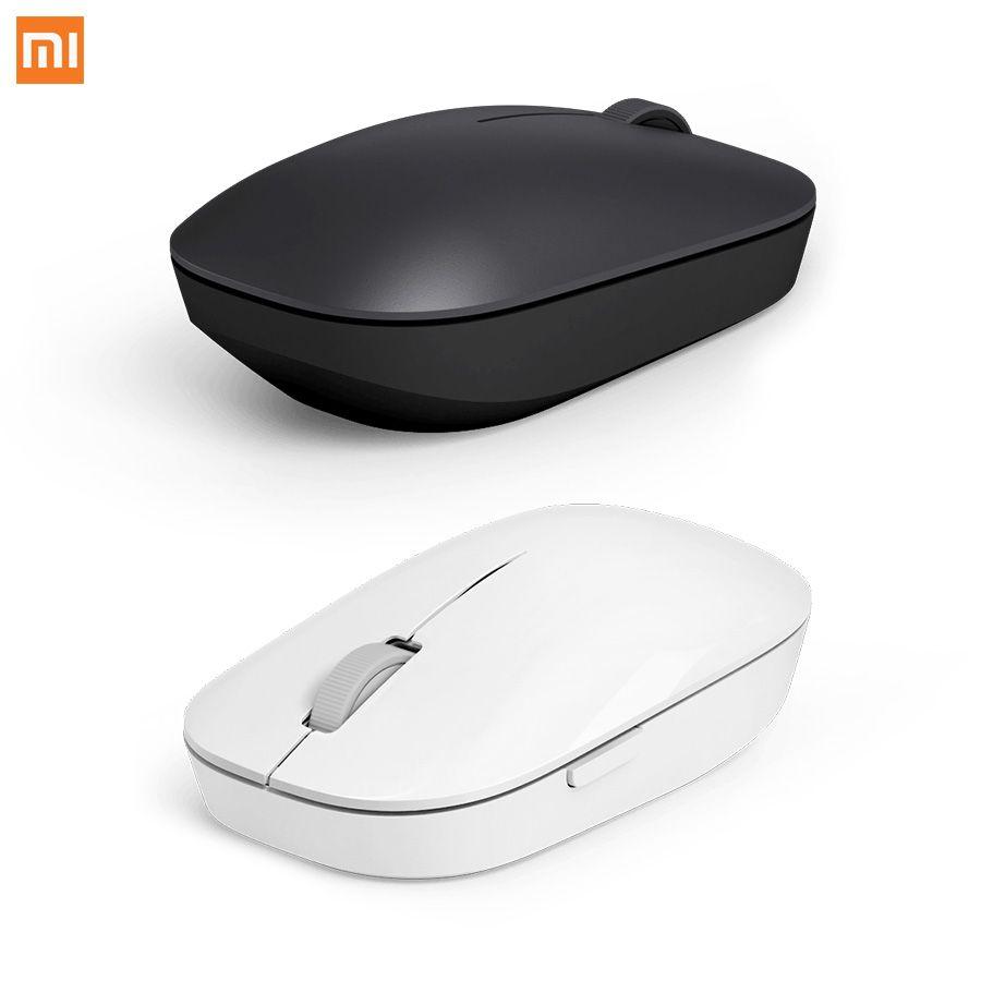 Xiao Mi Мышь Беспроводной Мышь Черный 2.4 ГГц 1200 точек/дюйм Портативный для MacBook Оконные рамы 8 Win10 ноутбук видео игры