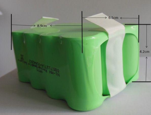 (Für Modell A320, A325, A330, A335, A336, A337, A338) Roboter-staubsauger batterie, DC14.4V, 2200 mAh, ni-mh, 1 teil/paket