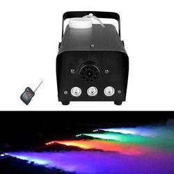 مصغرة 500 واط LED RGB اللاسلكية التحكم عن بعد الضباب مضخة ماكينات dj ديسكو آلة لصنع الدخان للحزب الزفاف عيد الميلاد المرحلة LED مبيد