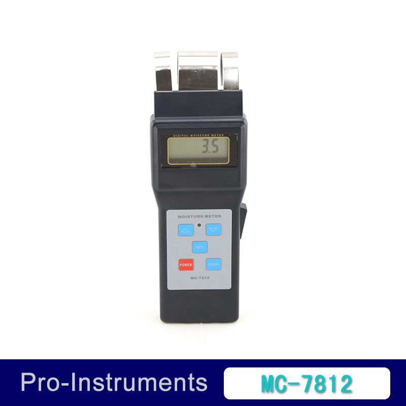 MC-7812 Digital Wood Moisture Meter Wood Humidity sawn timber hardened materials ambient temperature Moisture Tester