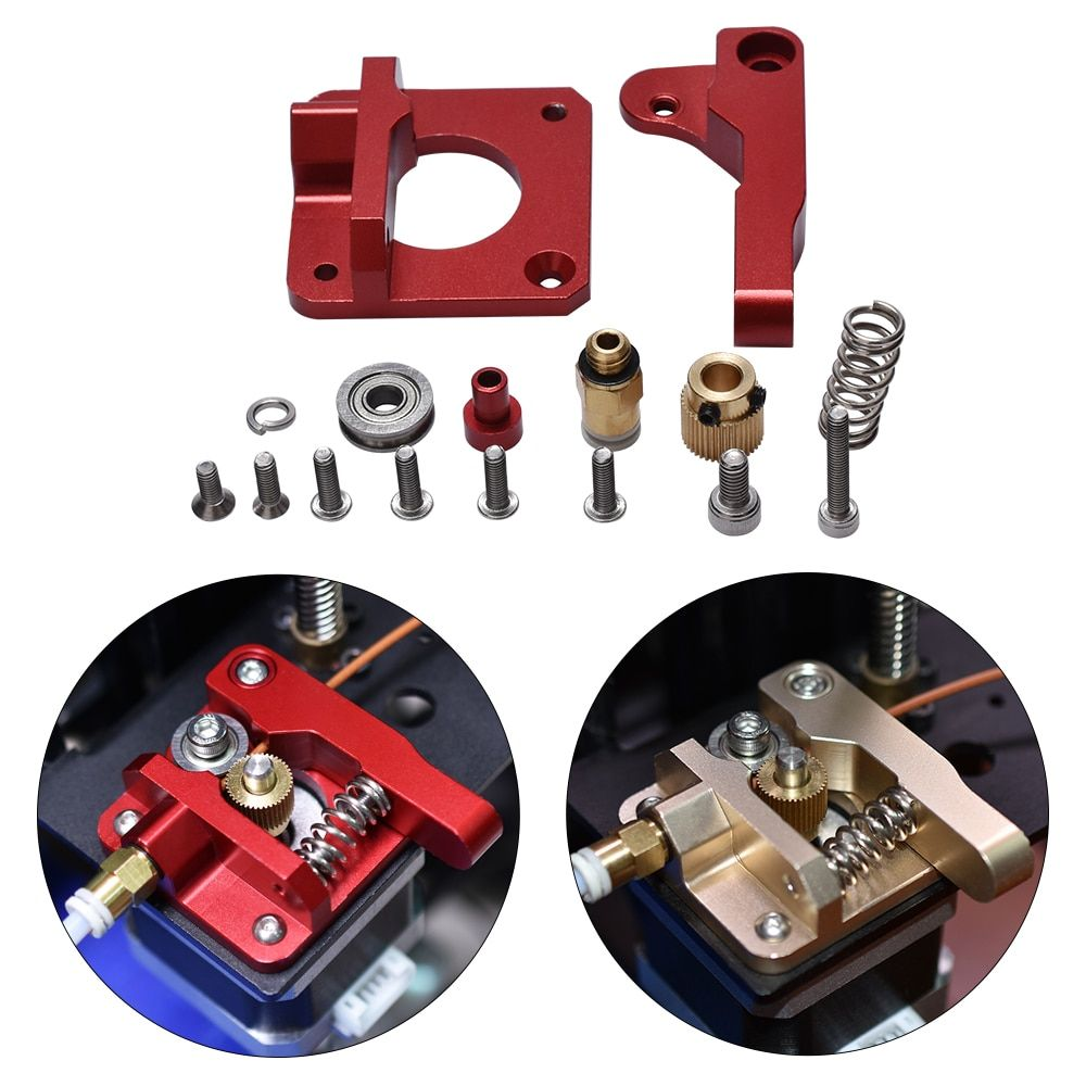 3D Printer Parts MK8 Extruder Upgrade Aluminum Block bowden extruder 1.75mm Filament Reprap Extrusion for CR-7 CR-8 CR-10