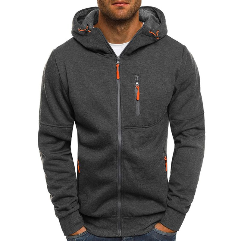 Hoodies Men 2018 Fashion Hoodies Brand Men Personality Zipper Sweatshirt Male Hoody Tracksuit Hip Hop Autumn Winter Hoodie Mens