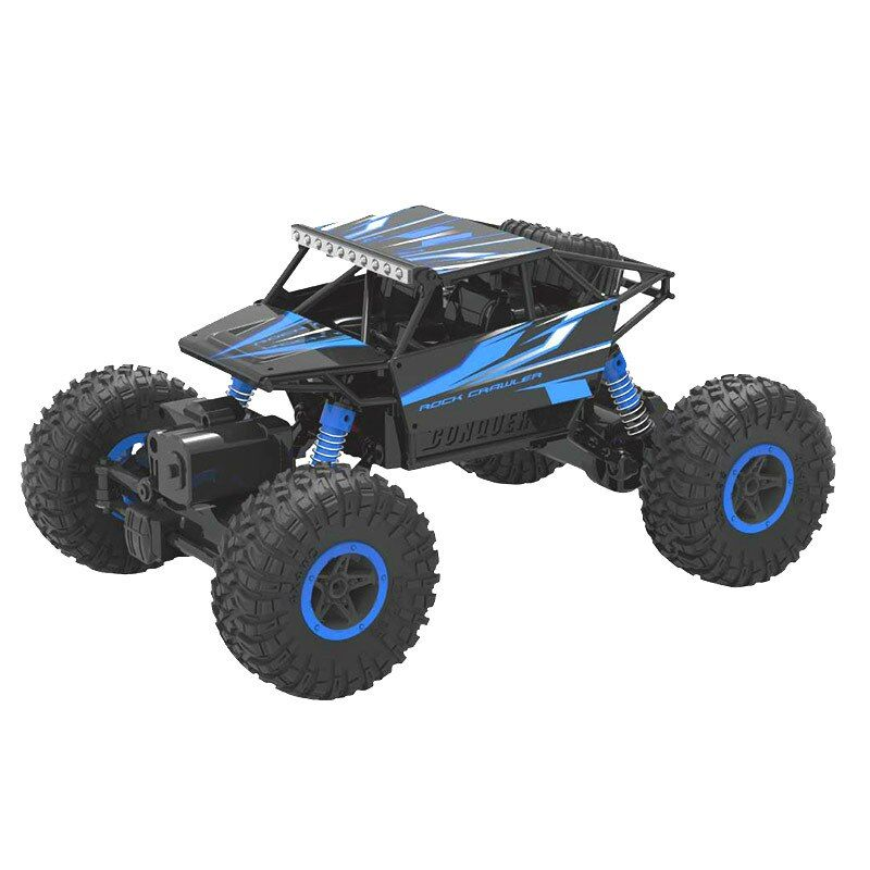Rc Car 4WD 2.4GHz Rock Rally climbing 4x4 Double Motors Bigfoot Car Remote Control Model Off-Road Vehicle Toy 20001