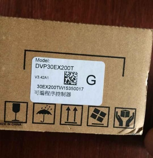 Новый оригинальный DVP30EX200T plc EX2 серии 100-240VAC 16DI 10DO транзисторный выход 3AI 1AO