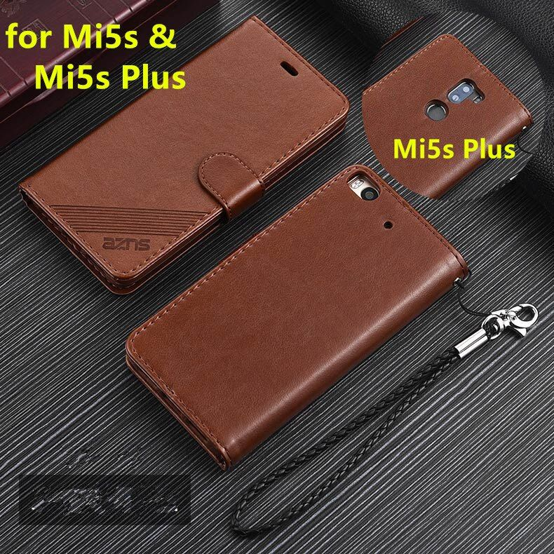 AZNS Premium PU Leather Wallet Case For Xiaomi Mi5s 5.15
