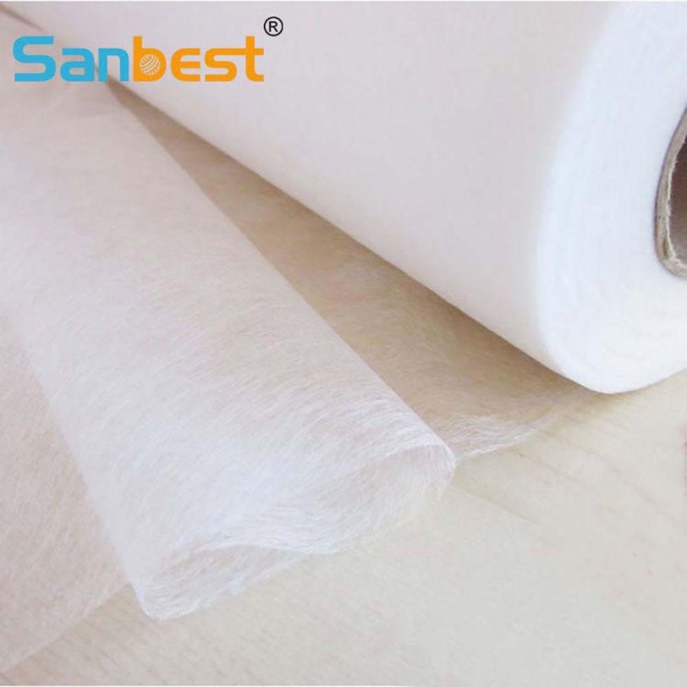 Sanbest facile fer à coudre tissu pour Patchwork entoilage Double face adhésif bâton 5 M X 112 CM bricolage artisanat vêtements FL00026