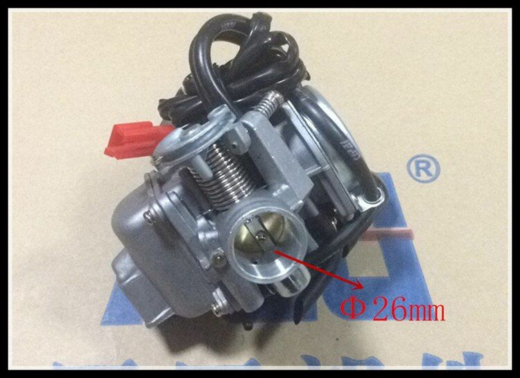 26mm Sunl 150 Carburetor 150cc GY6 Carb 4 Stroke Chinese Scooter Moped 157 NEW