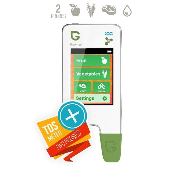 newfruit and vegetable Nitrate Detection/ water hardness Health Care GREENTEST 3 High Accuracy Read Digital Food Nitrate Tester,