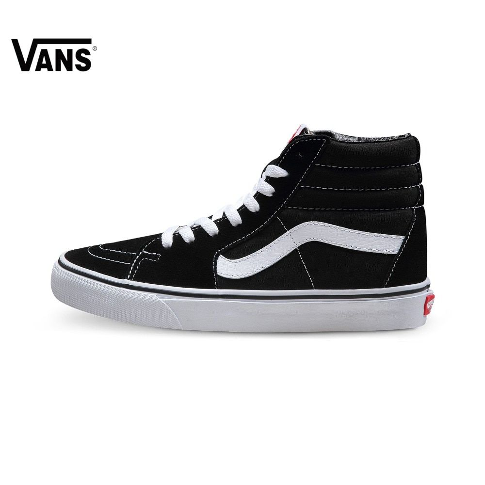 Original Vans Old Skool Shoes Classic Men Women High Tops Canvas Shoes Skateboarding Shoes Sports Vintage Shoes SK8-Hi Sneakers